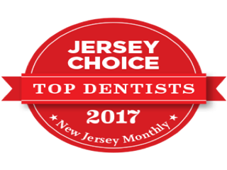 Jersey Choice Top Dentists 2017 badge