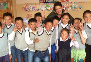 Mongolian patients in Mongolia with Pediatric Dentist from Fort Lee and Westwood, NJ