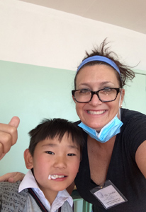 finished operation in Mongolia with Pediatric Dentist from Fort Lee and Westwood, NJ