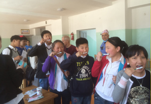 in Mongolia with Pediatric Dentist from Fort Lee and Westwood, NJ