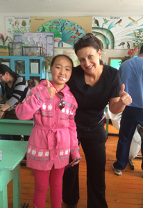 great patient in Mongolia with Pediatric Dentist from Fort Lee and Westwood, NJ